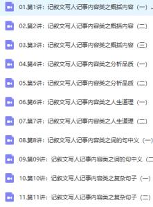 【完结】小学语文独创高效阅读解题法-全年精进班(杨红)